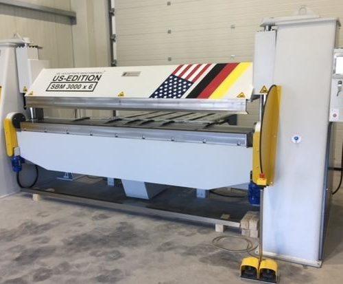 Hochstrate folding machine U.S. Edition