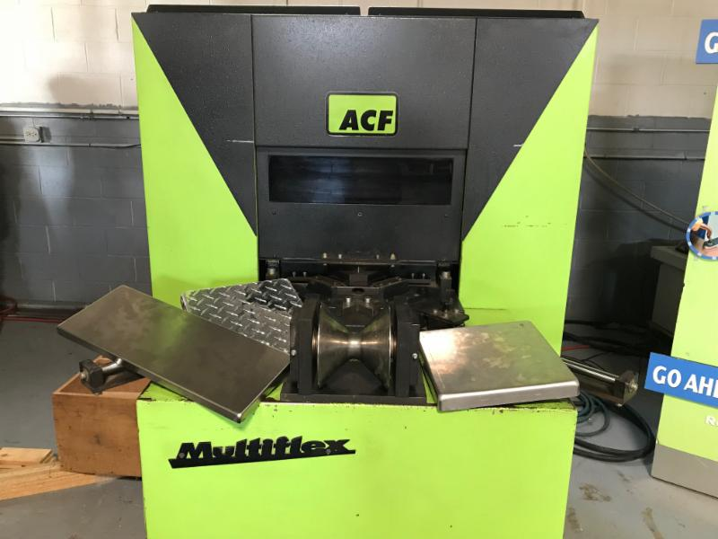 Used machinery: ACF MF25 cornerformer