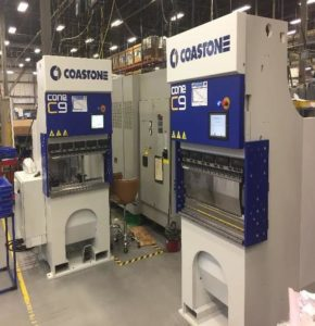 2 CoastOne C9S all electric press brakes