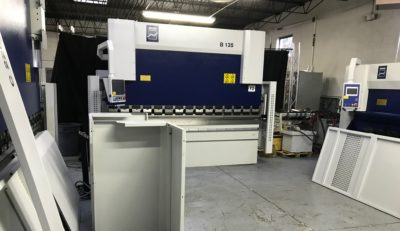 New MVD machine tools in IT showroom