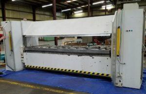 Heavy duty sheet metal folder: Fasti FP60 32/6
