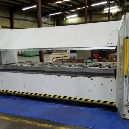 Heavy duty sheet metal folder: Fasti FP60 32/6