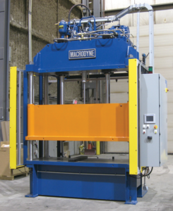 Macrodyne 4 column press frame