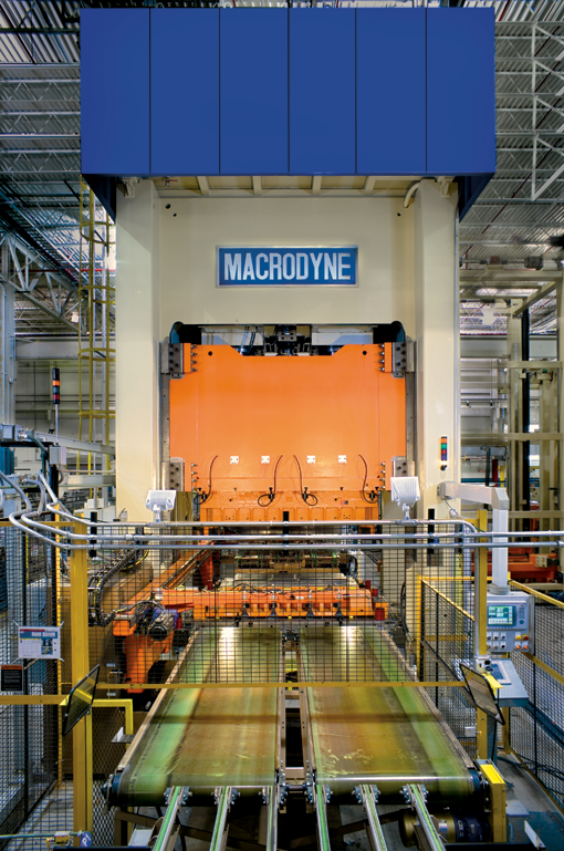 Macrodyne hydraulic press