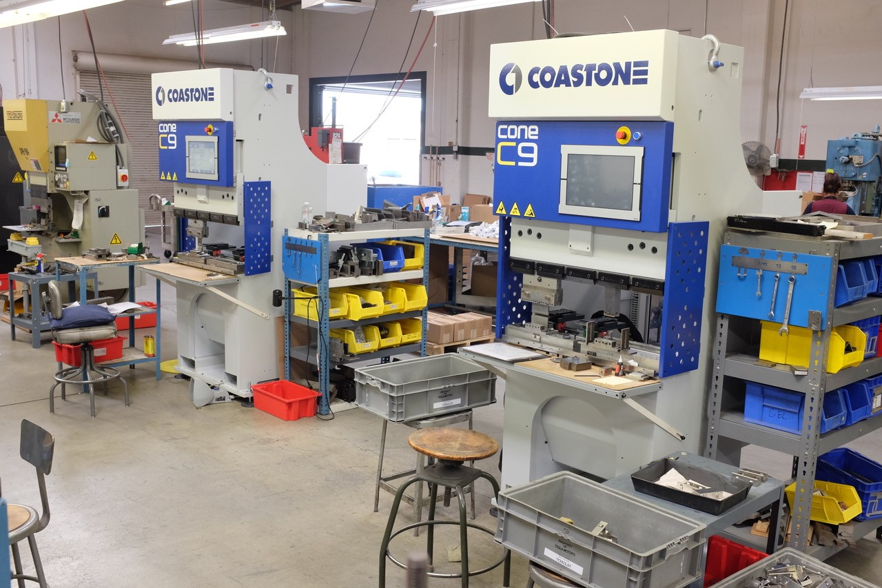 CoastOne C9S all electric press brake