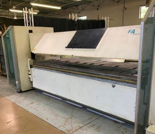 FP40 32/4 sheet metal folder with Delem control