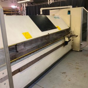 FP40 32/4 sheet metal folder with Cybelec control